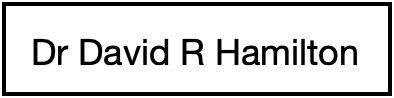 David R Hamilton PHD
